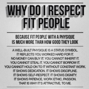 Respect for Fit People